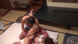 Kimono Sexy Japanese Teen Sex With Her Older Lover