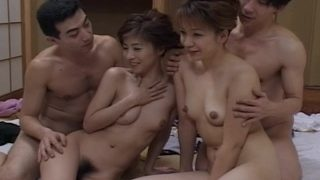 Japanese Uncensored Porn Couples Swap Young Hairy Wifes Creampied
