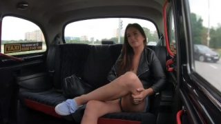 FemaleFakeTaxi Lena Ross Fucked By Driver After Visit Her Man In Prison