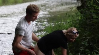 Amateur Porn Babe Fucked In Nature Swallows Sperm Part2