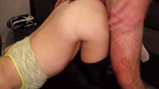 Amateur Porn Girl Sexy Ass In Leggings Pussy Fuck Part2