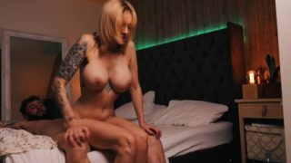 Real Porn Girl Tattooed Blonde Fucked By Big Dick Part2