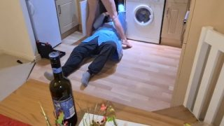 Amateur Porn Babe Rides Luckiest Plumber Home Sex Part2