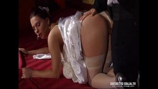Hot Bride In Wedding Night Must Provide Anal Sex Hairy Porn