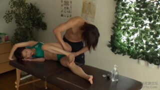 Japanese Massage Hot Girl Athlete Fucked By Fit Masseur