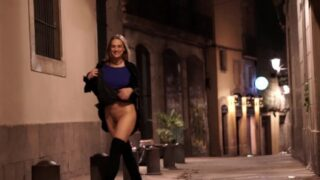 Porn Babe At Night Public Flashing Real Sex Video Part2
