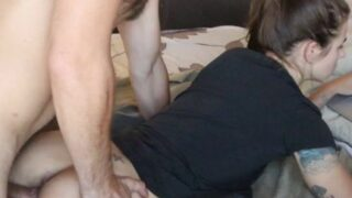 Russian Porn Girl Fucked Creampied While Gaming Part2